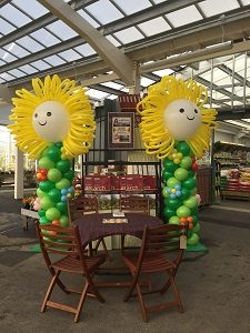 Corporate Product Promotion Balloon Decorations Scotland