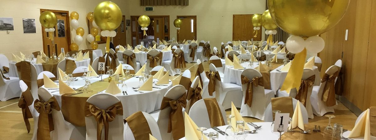 Wedding party Venue Balloon Decor